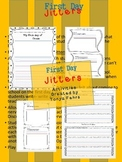 First Week of School:  First Day Jitters Activities