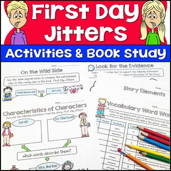 Jason 39 s online classroom teaching resources teachers pay for First day jitters coloring page
