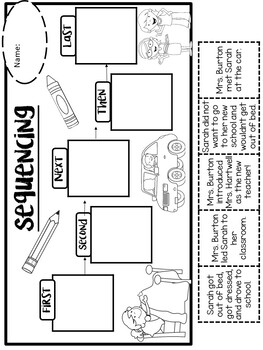 First Day Jitters Activities Pack