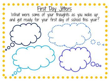 Worksheets fourth grade first day worksheets best free for First day jitters coloring page