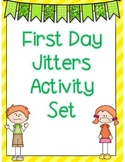 First Day Jitters Activity Set
