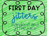 First Day Jitters Activity and Song