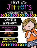 First Day Jitters Anchor Chart Activities