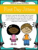 First Day Jitters Back to School Activities