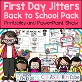 First Day Jitters {Back to School Pack with Printables, Ga