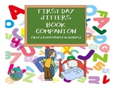 First Day Jitters Book Companion for Speech Therapy