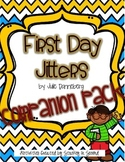 First Day Jitters by Julie Danneberg {Companion Pack}
