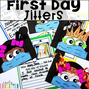 First Day Jitters Craft Worksheets & Teaching Resources   TpT