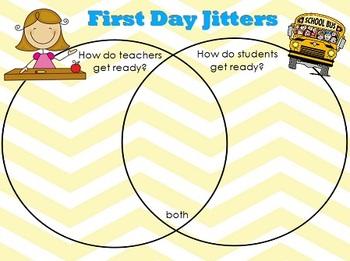 First Day Jitters Flipchart