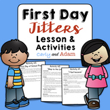 Back to School First Day Jitters Lesson and Activities