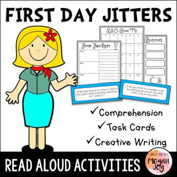 First Day Jitters Literacy Activities