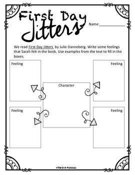 First Day Jitters Mini Pack for Older Kids