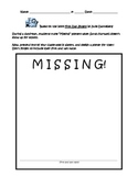 First Day Jitters: Missing Poster