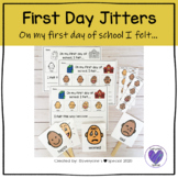 First Day Jitters- On My First Day of School I Felt