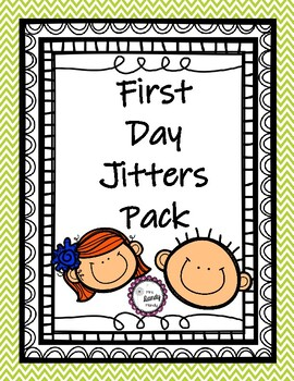 First Day Jitters Pack