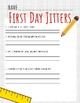 First Day Jitters Questions