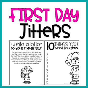 First Day Jitters / Read Aloud Book Companion