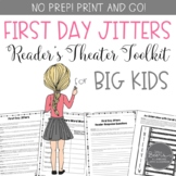 Back to School First Day Jitters Reader's Theater | Distance Learning