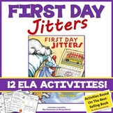 """5 """"First Day Jitters"""" Comprehension Activity Sheets"""