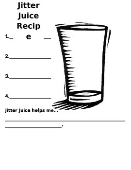 First Day Jitters Recipe