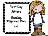 First Day Jitters Response Sheet