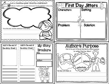 First Day Jitters (Story Companion)