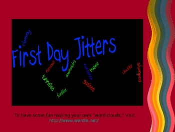 First Day Jitters - Vocabulary