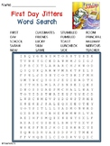 First Day Jitters Word Search