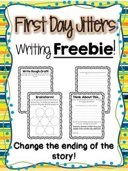 First Day Jitters Writing Freebie