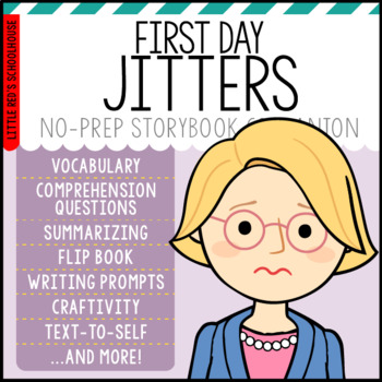 First Day Jitters Activity Pack