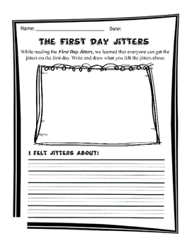 First Day Jitters kit