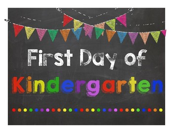 First Day & Last Day of School Sign