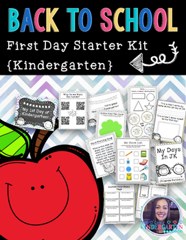 First Day Mini-Unit {Kindergarten}