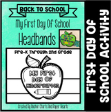 First Day Of School Headband Crowns