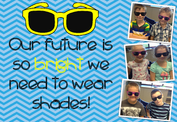 First Day Of School: Our Future Is So Bright We Need To Wear Shades!