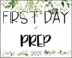 First Day Of School Sign | 2020 | Botanical