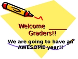 First Day Of School Welcome PowerPoint