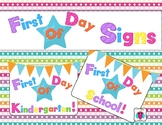 First Day Of Signs
