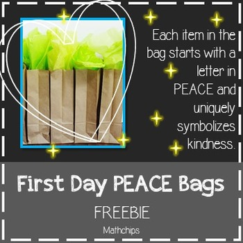 First Day Peace Bag