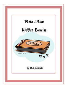 First Day Photo Album Writing Exercise-Ice Breaker for Teacher