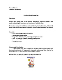 First Day Plan, Grades 1, 2, 3