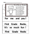 First Day Poem for First Grade