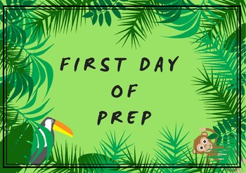 First Day Poster