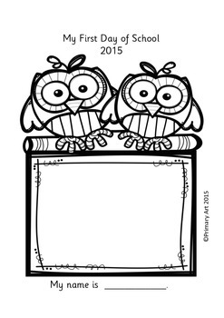 First Day Printables