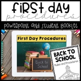 First Day Procedures - Booklet and PowerPoint