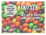 "First Day Skittles ""Getting to Know You"" Activities"