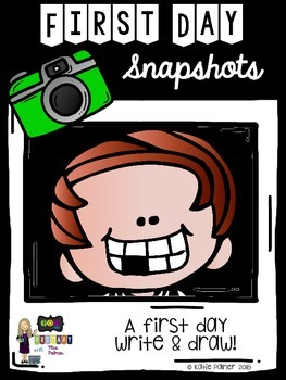 First Day Snapshots Writing Activity