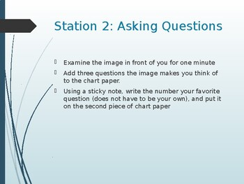 First Day Stations (Science)