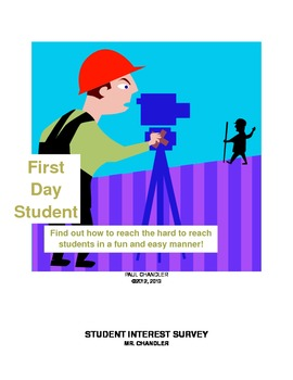 First Day Student Interest Survey