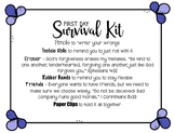 Special Customer Request: First Day Survival Kit #2 w/ rel